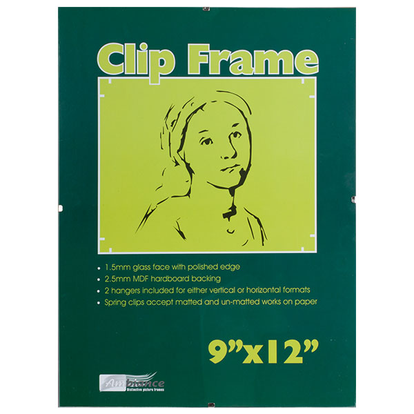 Ambiance Clip Frame 9x12 - more sizes available