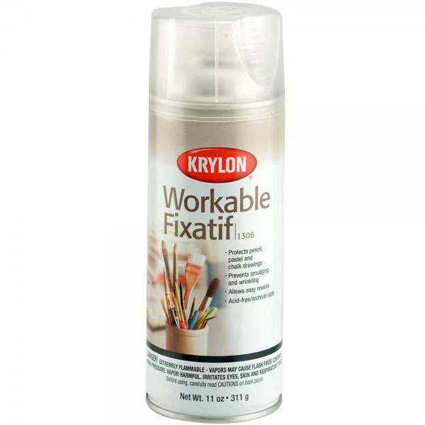 Krylon Workable Fixatif 11oz