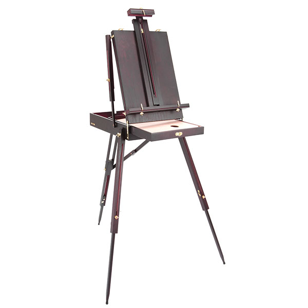 SoHo Lightweight Mahogany French Easel